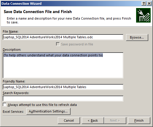 DataConnectionWizard