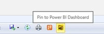 Power BI and SSRS Integration Button