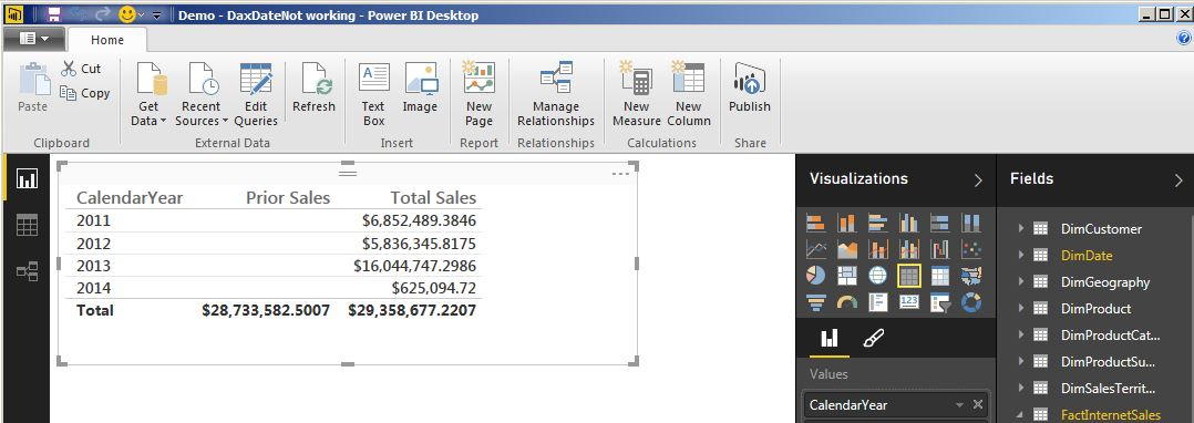 DAX Date Calculations Not Working in Power BI Desktop? Here's a fix  |