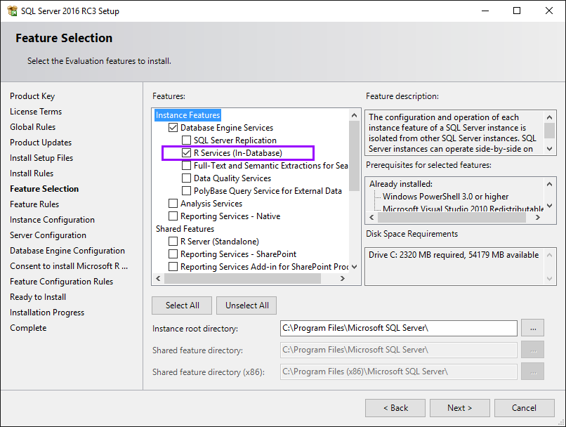 SQLServer2016_InstallR