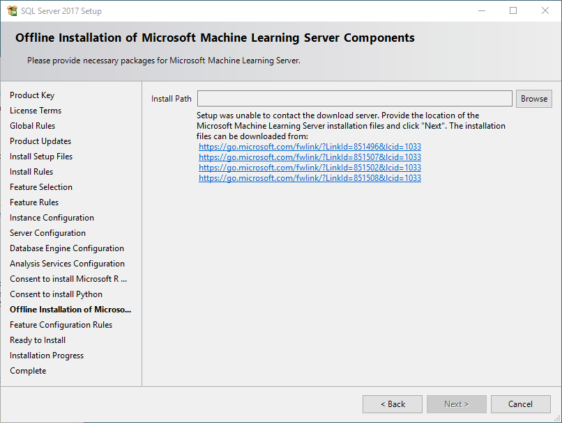 SQL Server 2017 Machine Learning Services Part 1- Installation |